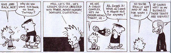 Calvin and jobs love