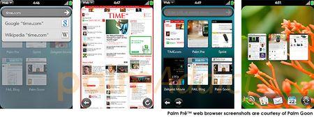 Palm pre browser sc