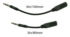 iPhone headset adapters