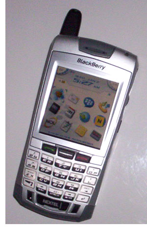 palmaddicts sprint nextel blackberry 7100i review rh palmaddict typepad com